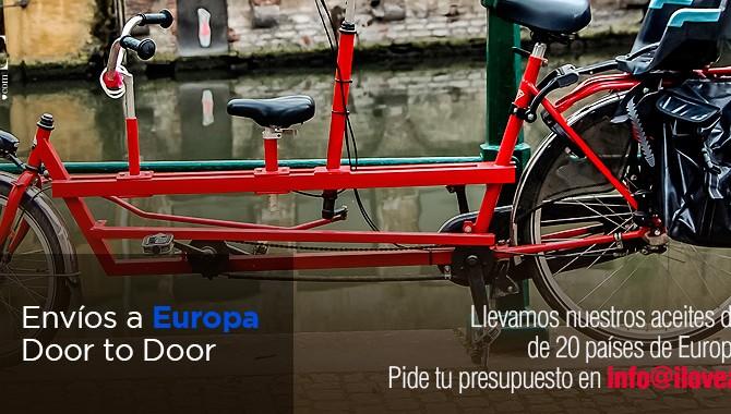 iloveaceite envíos a Europa