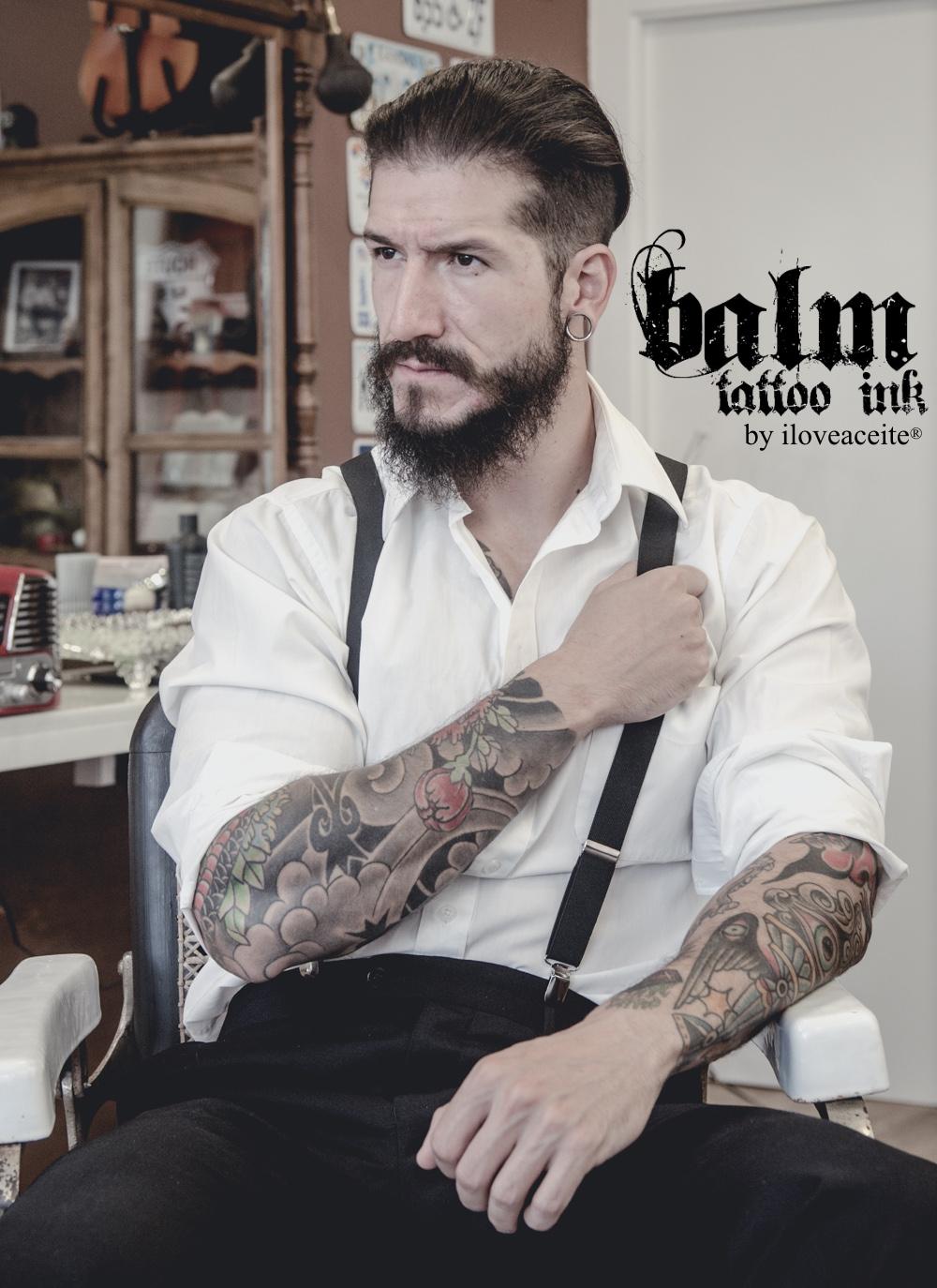 ¿Están pensando en tatuarte o estás recien tatuado/a? iloveaceite nos present su bálsamo para cuidar tatuajes