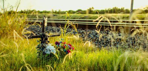 Camino cruzado - Vagamundos | Fernando R. Ortega | Foto: atardecer en Rittiman Road / San Antonio / Texas