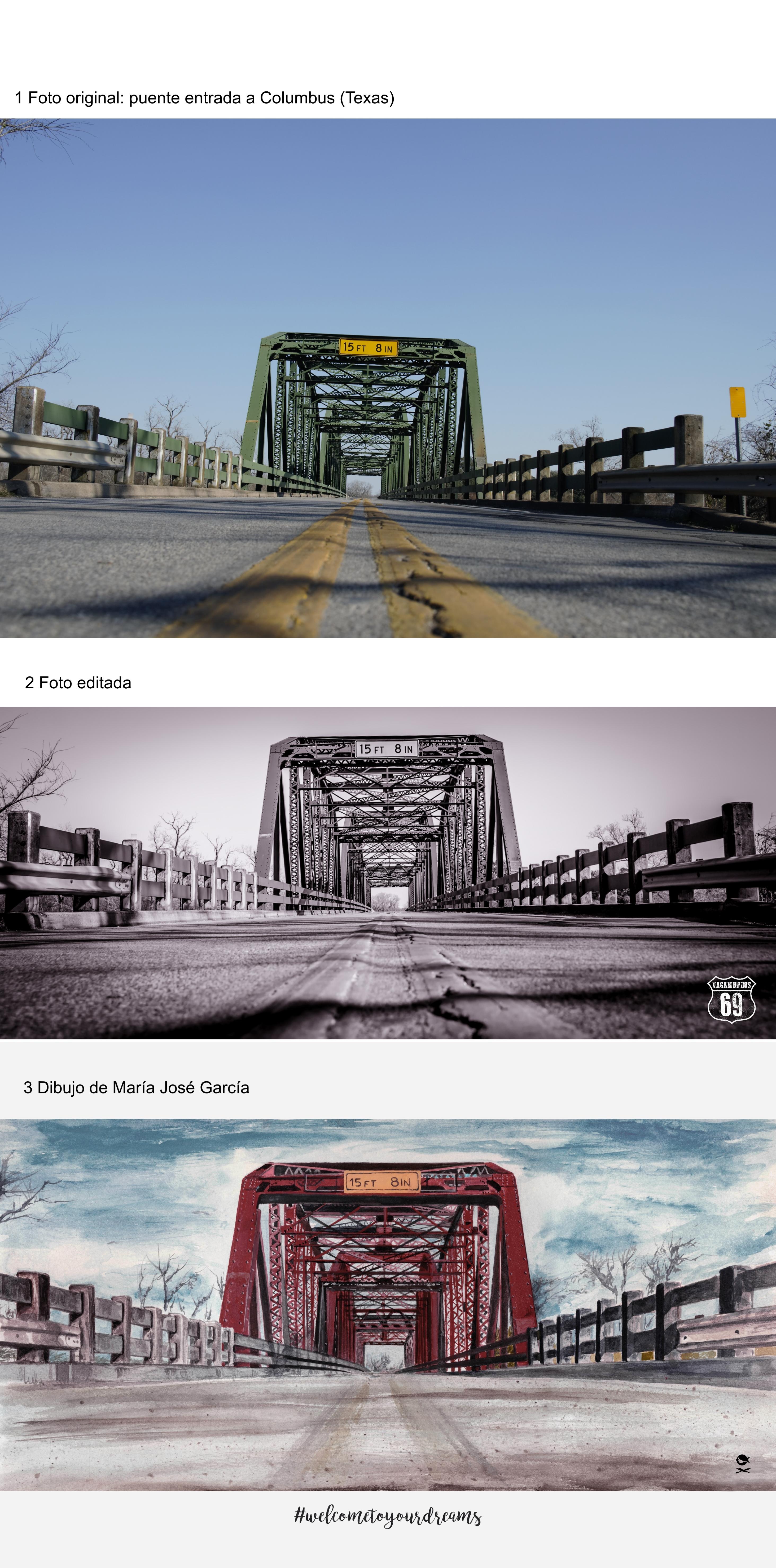 Proceso creativo del puente | vagamundos